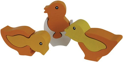 Cheap Fun ImagiPLAY 10144 3 Chicks Puzzle (B002HN09YU)