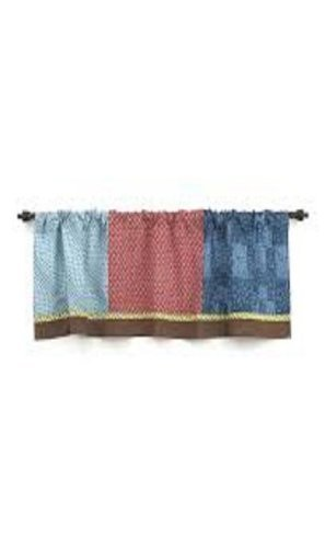 COCALO SUPERHERO PALS WINDOW VALANCE
