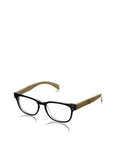 Ivory + Mason Men's Bluebird Eyewear, Black Crystal + Bamboo