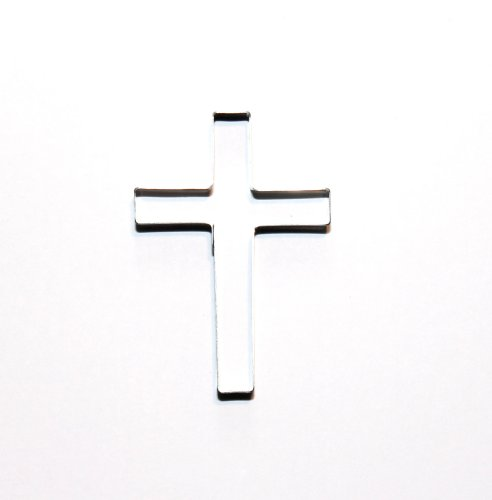 Sugarcraft & Cake Decorating Cutter - Small Cross Style 2 Shape for Cake Decorating - Christening Cakes, Religious Cakes, Holy Communion Cakes, Easter Cakes
