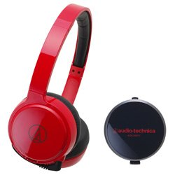 audio-technica ポータブルヘッドホン ATH-WM77 red