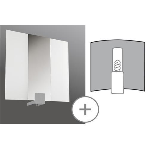 paulmann wallceiling ds modern deco set wl plain metall. Black Bedroom Furniture Sets. Home Design Ideas