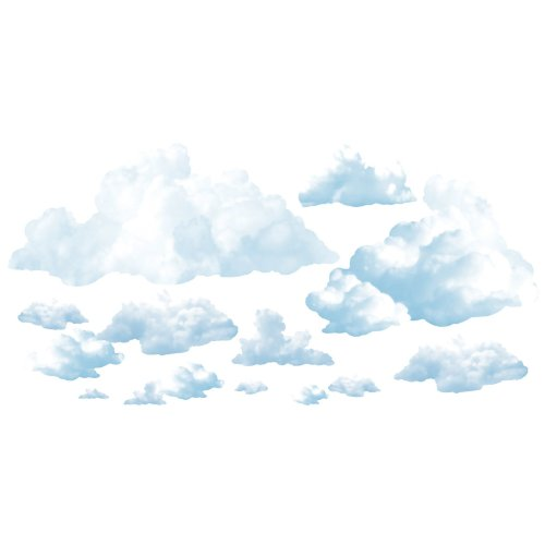 Fluffy Cloud Props Party Accessory (1 count) (24/Pkg)