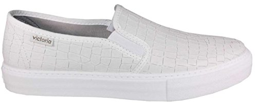 VICTORIA Slip-on ecopelle bianco TG 37