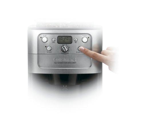 Imagen de Cuisinart DGB-900BC Grind & Brew Thermal para 12 tazas Cafetera Automática, Acero inoxidable / Negro