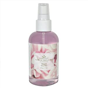 Garden Botanika Heart Body Mist, Fresh Floral, 6 Fluid Ounce by Garden Botanika