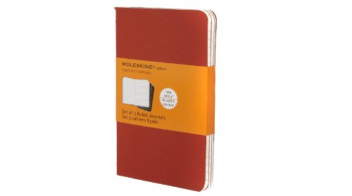 Cahier Pocket Ruled Red Cover (Moleskine Srl)