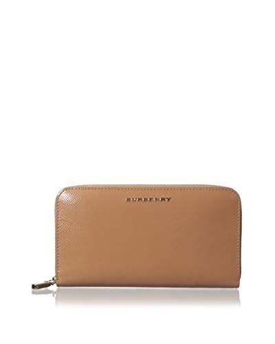 Burberry Women's Zip Wallet, Pale Coral Pink