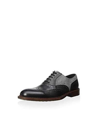 Kenneth Cole New York Men's Elite Class Wingtip Oxford with Brogue Detail