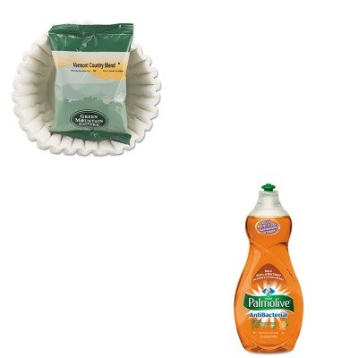 KITCPM46113EAGMT4162 - Value Kit - Green Mountain Coffee Roasters Vermont Country Blend Coffee Fraction Packs (GMT4162) and Ultra Palmolive Antibacterial Dishwashing Liquid (CPM46113EA)