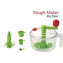 SHRI KRISHNA DOUGH MAKER WITH CHOP AND CHURN 2 IN 1 SYSTEM