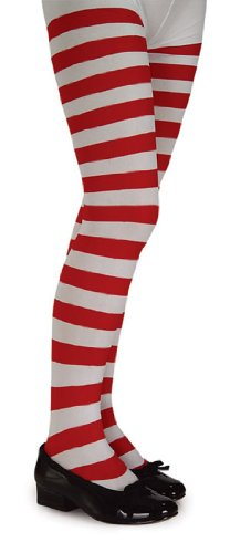 Fantastic Deal! Rubie's Costume Co Child Rd/White Stripe Tights Costume, Small