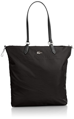 Borsa Shopping Donna Lacoste Bag Woman Vertical Tote Bag NF1248CZ 000 Black