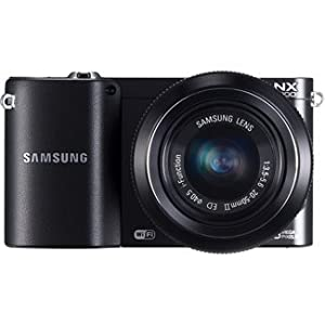 NX1000 20.3 Megapixel Mirrorless Camera (Body with Lens Kit) - 20 mm - 50 mm - Black by Samsung