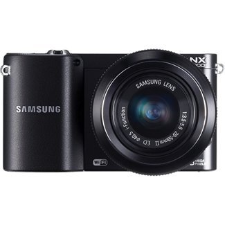 Samsung NX1000 Mirrorless Digital Camera with 20-50mm Lens, 20.3MP (Black) (Samsung Nx1000 compare prices)