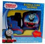 Thomas & Friends Bubble Time Friends Bubbling Body Wash & Wash Mitt - 1