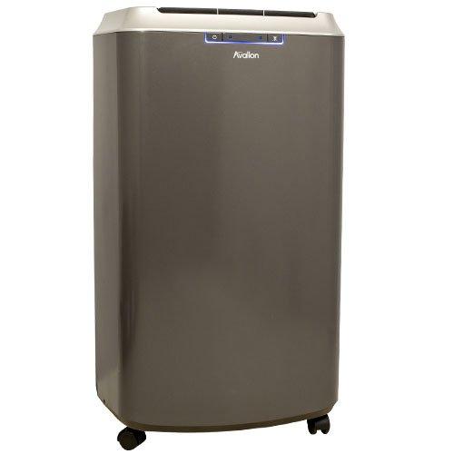 Avallon 14,000 BTU Dual Hose Portable Air Conditioner with Invisimist Feature - No draining required