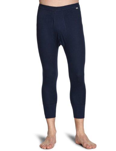 Huber Herren Lange Unterhose 2313/ Comfort Pant 3/4 lang mit Eingriff, Gr. 7, Blau (MARINE 0386)