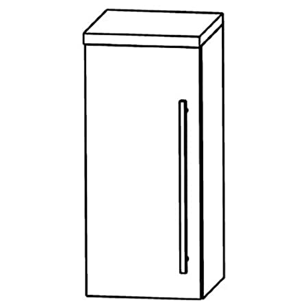 Perfect Swing Wall Cabinet (OGA414A7L/R) Bathroom, 40cm