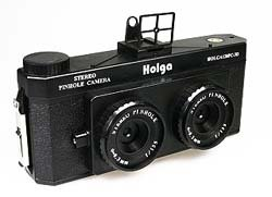 Holga 120-3D Pinhole Stereo Camera for 3D Lomography