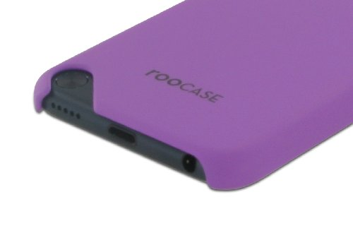 rooCASE Ultra Slim Matte (Purple) Shell Case for Apple iPod Touch 5 (5th Generation Sept 2012)