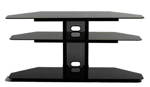 TransDeco Corner TV Stand with 2 AV Shelves for 32 to 55-Inch Plasma/LCD TV picture B002N6W9KS.jpg