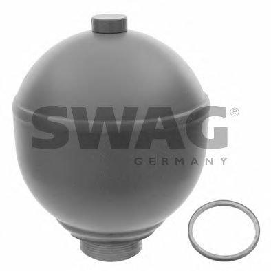 SWAG 64 92 2504 SUSPENSION SPHERE, PNEUMATIC SUSPENSION