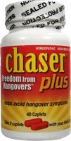 Chaser Plus, Freedom from Hangovers 40 Caps from Living Essentials