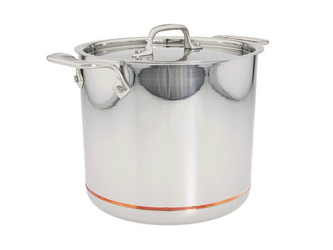 All-Clad Copper-Core 7 Qt. Stock Pot With Lid