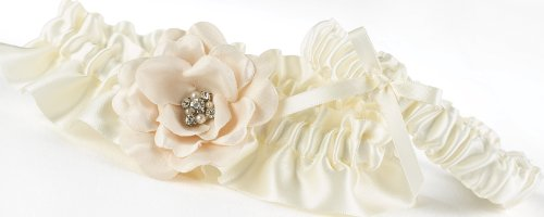 Hortense B. Hewitt Love Blooms Wedding Accessories, Garter Set