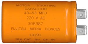 Images for Sears Craftsman Liftmaster Chamberlain Capacitor Part # 30B387