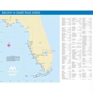 Maptech ChartKit® Book w Companion CD - Florida West Coast & The Keys by MAPTECH PAPER CHARTS