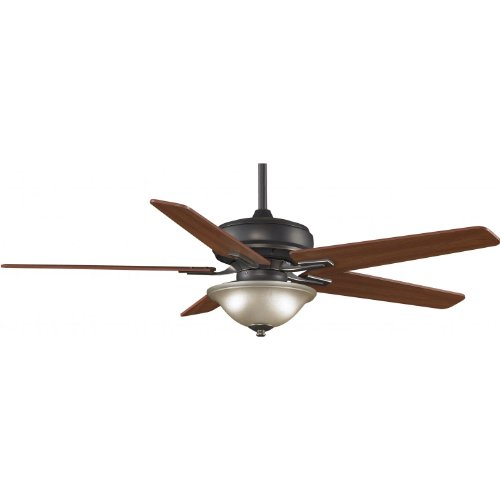 Fanimation Keistone 60 Inch Indoor Ceiling Fan - Bronze Accent