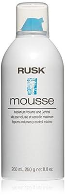 RUSK Designer Collection Mousse Maximum Volume and Control, 8.8 fl. oz.