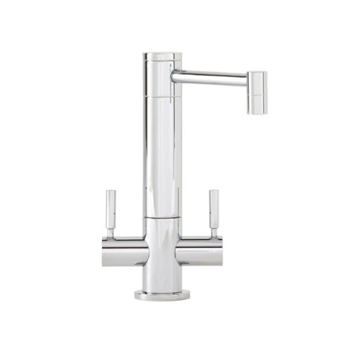 Waterstone 1900HC-SN Hunley Filtration Faucet Hot and Cold Double Handle, Satin Nickel (Kitchen Faucet Hot Cold compare prices)