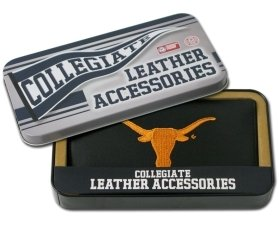 Texas Longhorns Embroidered Leather Checkbook Cover at Amazon.com