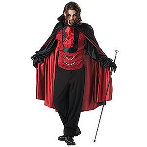 Vampire Gothic Adult Halloween Outfit Men Costume