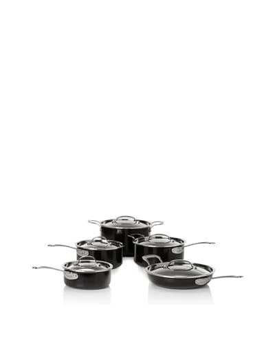 BergHOFF EarthChef Acadian 10-Piece Non-Stick Cookware Set, Black