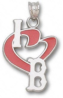 Boston Red Sox MLB Sterling Silver 3/4 Charm
