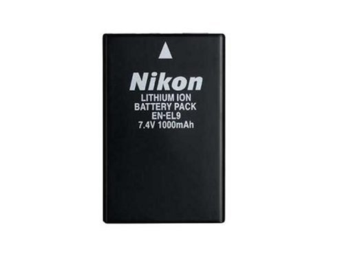 Nikon EN-EL9 Rechargeable Li-ion Battery for Nikon D40 and D40x Digital SLR Cameras