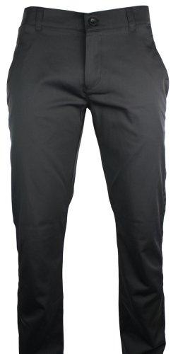 Mens Slim Fit Trousers Shiny Black Pocket Design Italian Design Smart