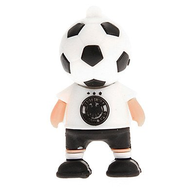Zaki Germany France Argentina Netherlands Football Player Usb 2.0 Flash Drive 16Gb