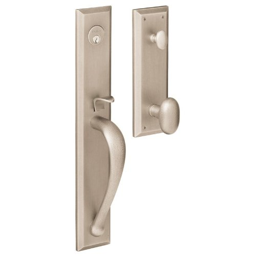 Baldwin M504.ENTR Cody Single Cylinder Mortise Entrance Handleset Trim Set with, Satin Nickel напольная плитка paradyz inspiration inspirio brown 40x40