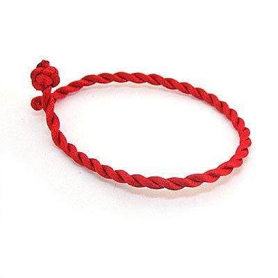 Good Luck Kabbalah Red String Rope Bracelet Spiritual