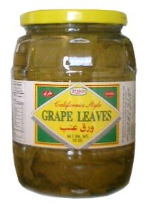 California Grape Leaves 2lb jar (ziyad) DR.WT. 16oz by Ziyad
