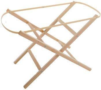 Shnuggle Folding Pine Moses Basket Stand