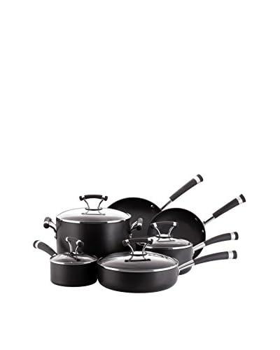 Circulon 10-Piece Symmetry Hard-Anodized Nonstick Cookware Set
