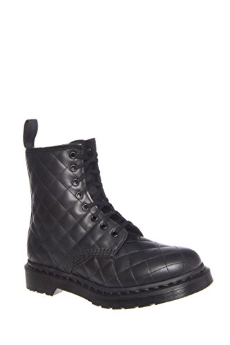 Coralie Quilted 8-Eye Lace-Up Boot