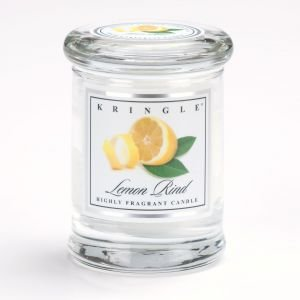 Kringle Candle Company Small Apothecary Jar - Lemon Rind