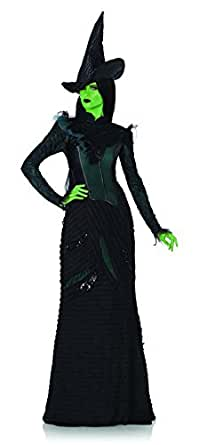 Leg Avenue Womens Wicked Deluxe Defying Gravity Elphaba Witch Costume